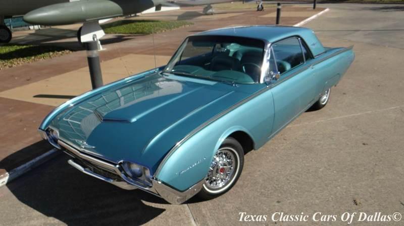 1961 ford thunderbird base hardtop 2 door in dallas tx texas classic cars of dallas. Black Bedroom Furniture Sets. Home Design Ideas