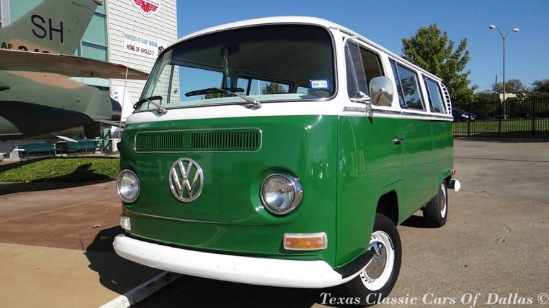 1971 volkswagen bus 9 seater in dallas tx texas classic cars of dallas. Black Bedroom Furniture Sets. Home Design Ideas