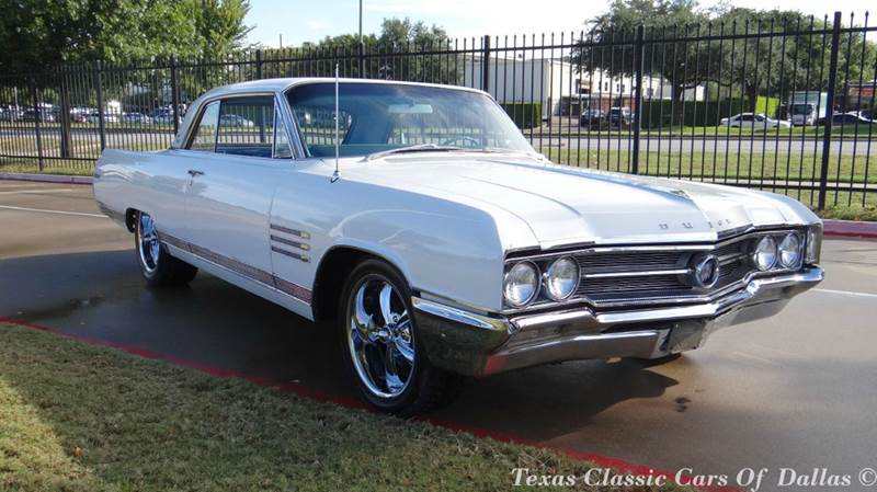1964 buick wildcat coupe in dallas tx texas classic cars of dallas. Black Bedroom Furniture Sets. Home Design Ideas