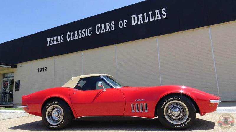 1969 chevrolet corvette in dallas tx texas classic cars of dallas. Black Bedroom Furniture Sets. Home Design Ideas