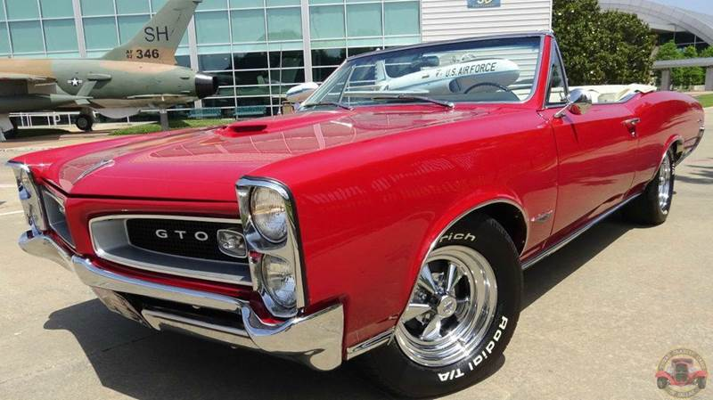 1966 pontiac gto convertible in dallas tx texas classic cars of dallas. Black Bedroom Furniture Sets. Home Design Ideas