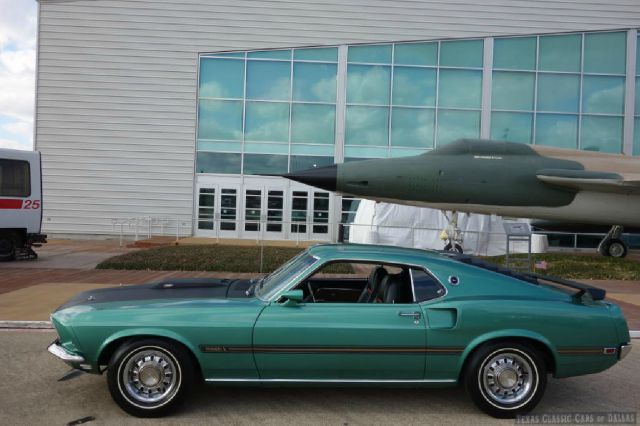 1969 ford mustang mach 1 in dallas addison arlington texas classic cars of dallas. Black Bedroom Furniture Sets. Home Design Ideas