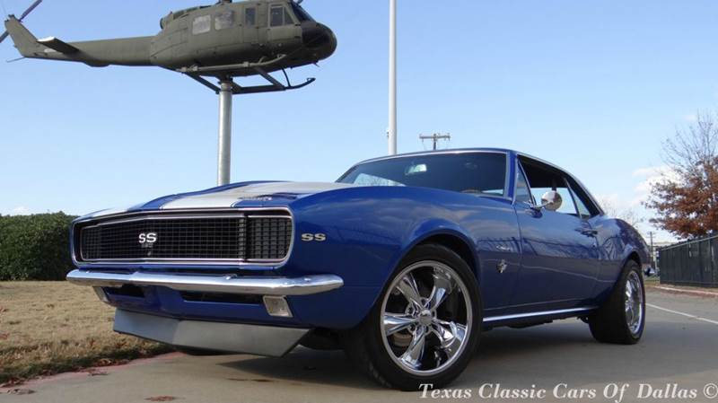 1967 chevrolet camaro in dallas tx texas classic cars of dallas. Black Bedroom Furniture Sets. Home Design Ideas