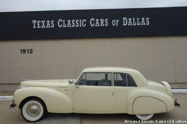 1941 lincoln continental in dallas tx texas classic cars of dallas. Black Bedroom Furniture Sets. Home Design Ideas