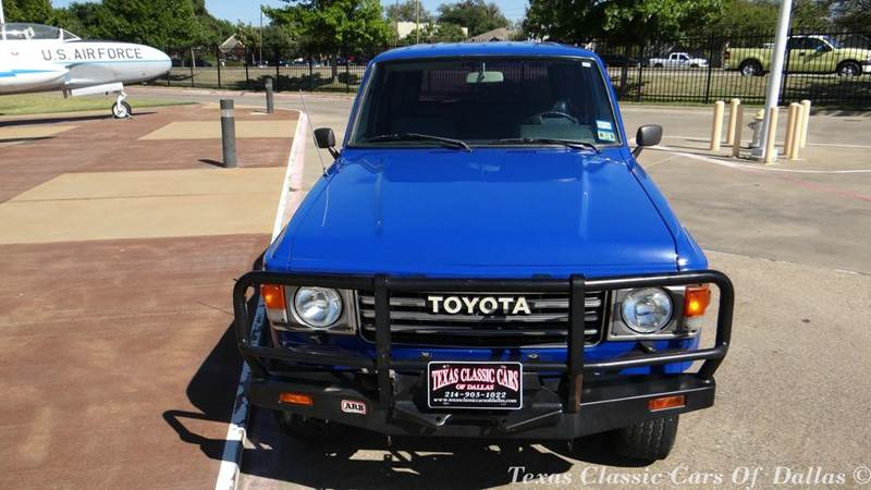 1985 toyota land cruiser base 4dr 4wd suv in dallas tx texas classic cars of dallas. Black Bedroom Furniture Sets. Home Design Ideas