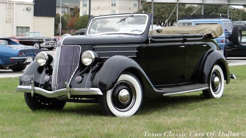 1936 ford deluxe convertible in dallas tx texas classic cars of dallas. Black Bedroom Furniture Sets. Home Design Ideas