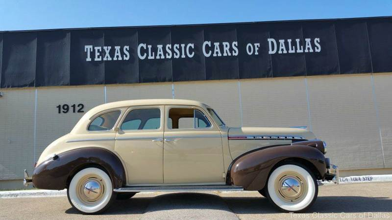 1940 chevrolet super deluxe 4 dr in dallas tx texas classic cars of dallas. Black Bedroom Furniture Sets. Home Design Ideas