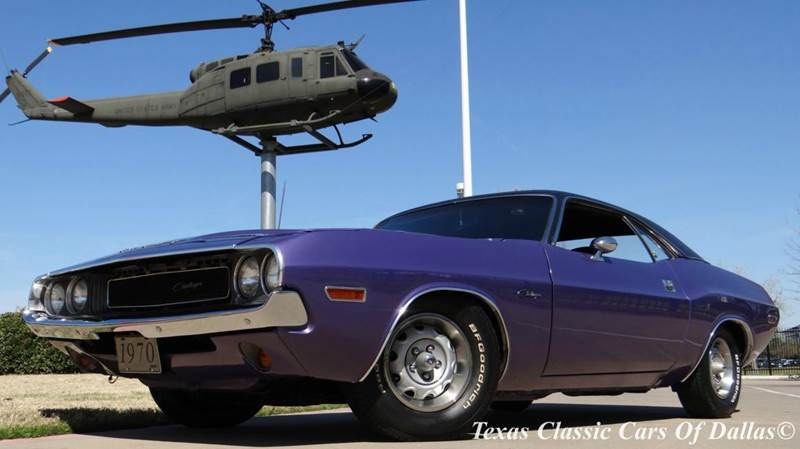 1970 dodge challenger in dallas tx texas classic cars of dallas. Black Bedroom Furniture Sets. Home Design Ideas