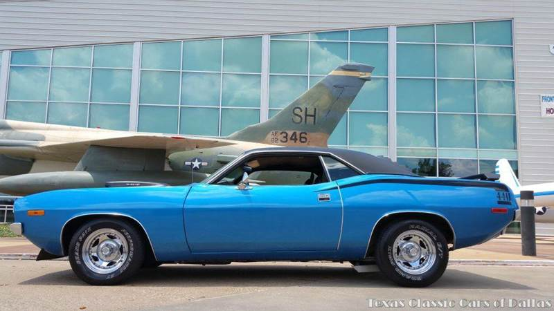 1972 plymouth barracuda 440 in dallas tx texas classic cars of dallas. Black Bedroom Furniture Sets. Home Design Ideas