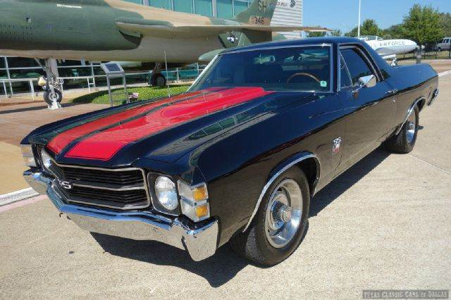 1971 chevrolet el camino ss 396 in dallas addison arlington texas classic cars of dallas. Black Bedroom Furniture Sets. Home Design Ideas