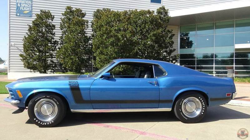 1970 ford mustang boss 302 boss 302 4 bbl in dallas tx texas classic cars of dallas. Black Bedroom Furniture Sets. Home Design Ideas