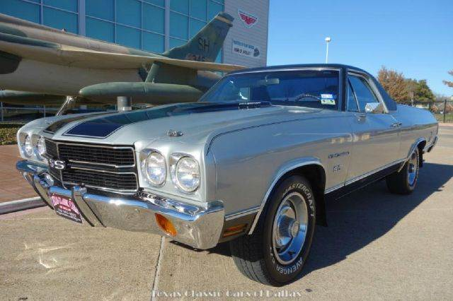 1970 chevrolet el camino super sport in dallas addison arlington texas classic cars of dallas. Black Bedroom Furniture Sets. Home Design Ideas