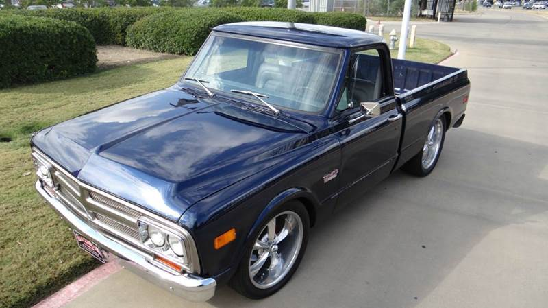 1970 gmc c k 1500 series shorted in dallas tx texas classic cars of dallas. Black Bedroom Furniture Sets. Home Design Ideas