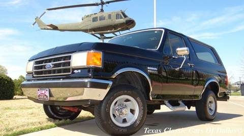 Ford Bronco For Sale Texas Carsforsale Com