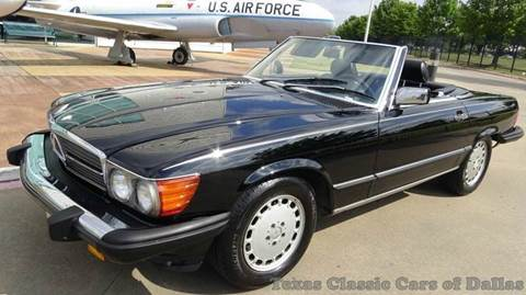 1988 Mercedes-Benz 560-Class