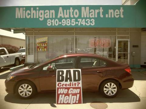 2012 Honda Civic for sale in Port Huron, MI