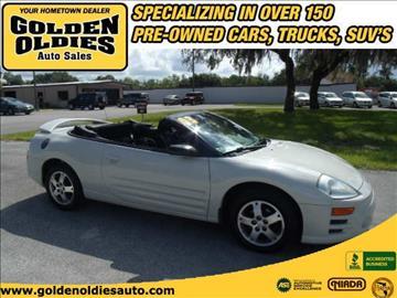 2003 Mitsubishi Eclipse Spyder for sale in Hudson, FL