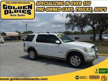 2007 Ford Explorer for sale in Hudson, FL