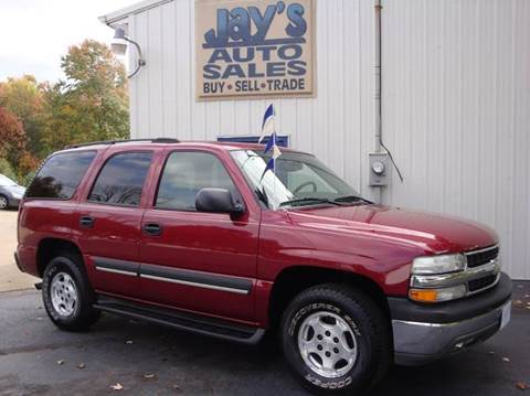 2004 Chevrolet Tahoe for sale in Wadsworth, OH