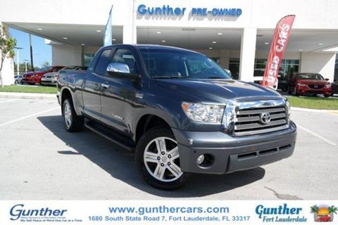 2008 Toyota Tundra for sale in Fort Lauderdale, FL
