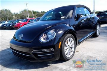 2017 Volkswagen Beetle for sale in Fort Lauderdale, FL