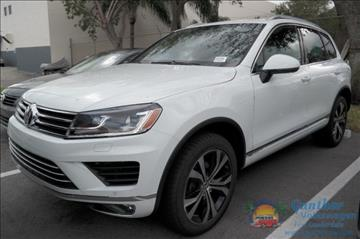 2017 Volkswagen Touareg for sale in Fort Lauderdale, FL
