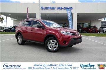 2013 Toyota RAV4 for sale in Fort Lauderdale, FL