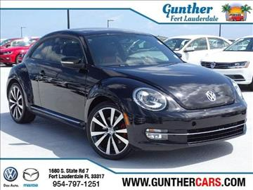 2013 Volkswagen Beetle for sale in Fort Lauderdale, FL