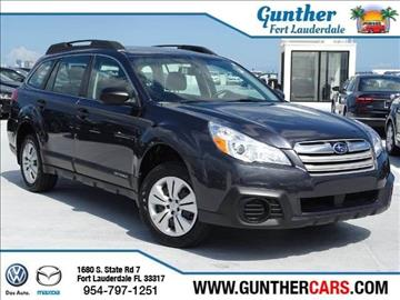 2013 Subaru Outback for sale in Fort Lauderdale, FL