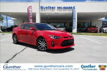 2015 Scion tC for sale in Fort Lauderdale, FL