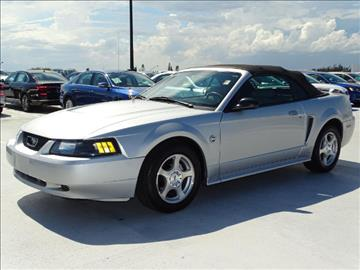 2004 Ford Mustang for sale in Fort Lauderdale, FL
