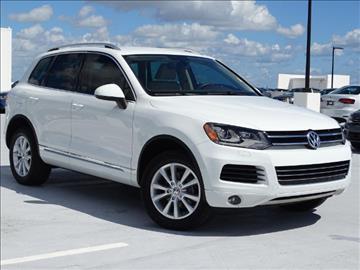 2014 Volkswagen Touareg for sale in Fort Lauderdale, FL