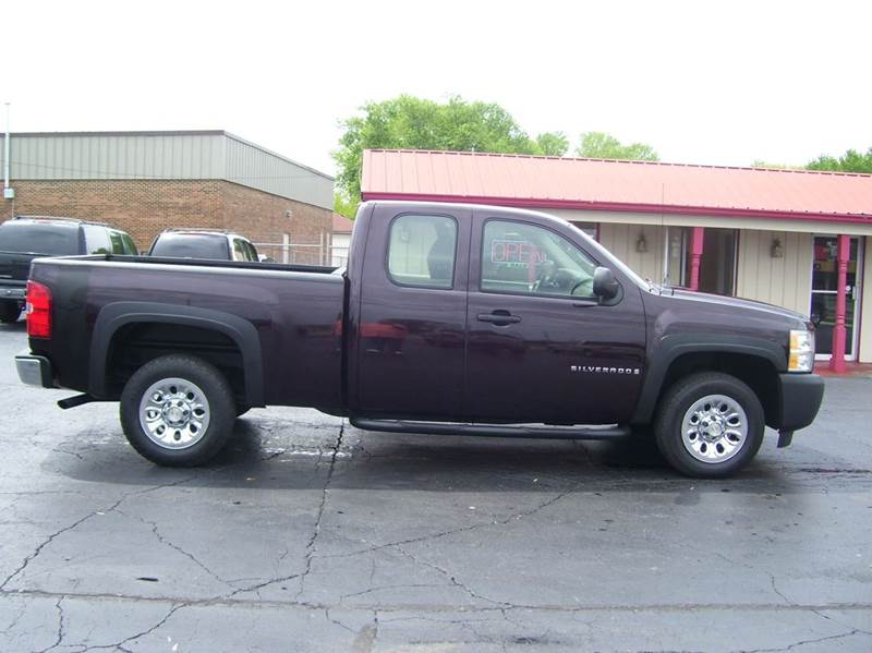 2008 Chevrolet Silverado 1500 2WD Work Truck 4dr Extended Cab 6.5 ft. SB - Whiteland IN