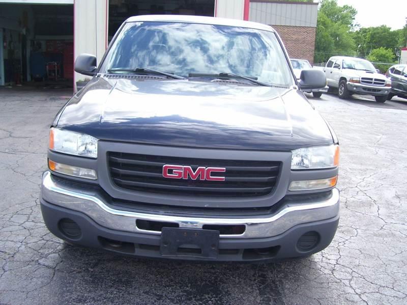 2006 GMC Sierra 1500 SL1 2dr Regular Cab 8 ft. LB - Whiteland IN