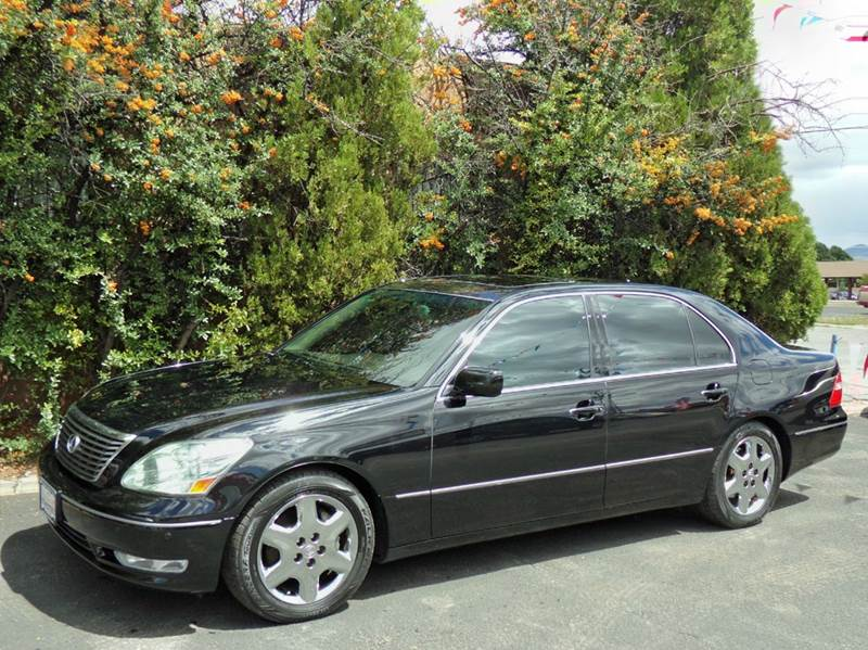 2005 lexus ls 430 4dr sedan in santa fe nm capitol city auto. Black Bedroom Furniture Sets. Home Design Ideas