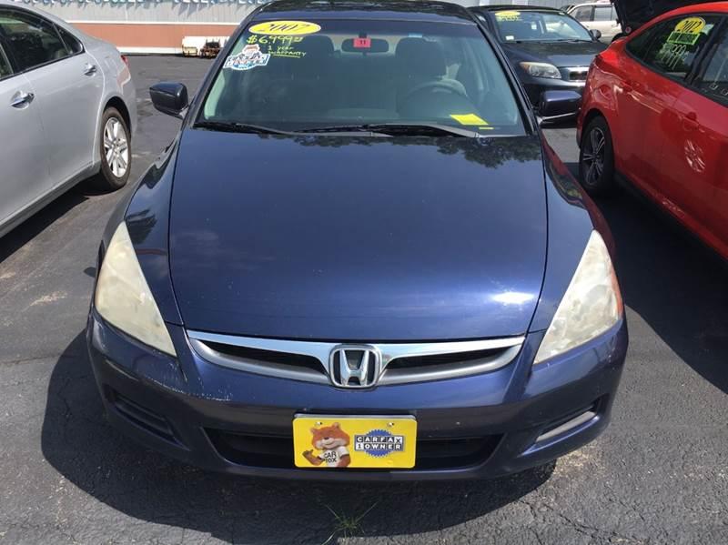 2007 Honda Accord Special Edition 4dr Sedan (2.4L I4 5A) - Haverhill MA