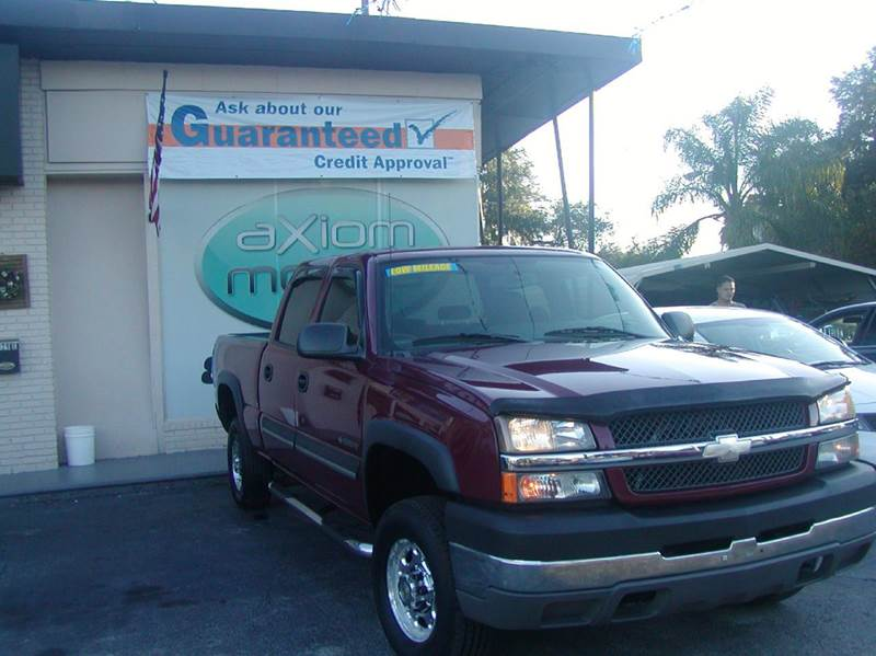 2004 Chevrolet Silverado 2500hd For Sale In Brandon Fl