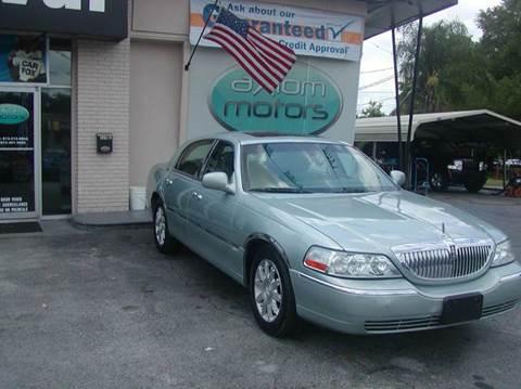 2007 Lincoln Town Car for sale in Brandon, FL