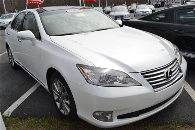2010 LEXUS ES 350 BASE 4DR SEDAN starfire pearl value priced below market sunroofmoonroof k