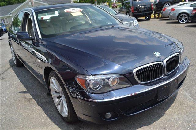2007 BMW 7 SERIES 750LI 4DR SEDAN monaco blue metallic this 2007 bmw 7 series 750li will sell fa