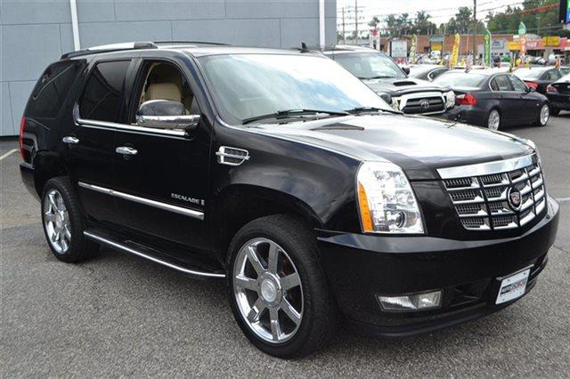 2008 CADILLAC ESCALADE BASE AWD 4DR SUV black raven low miles carfax one owner - carfax guaran