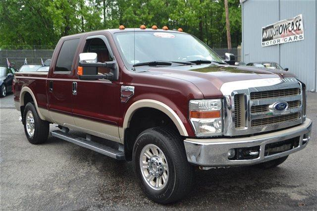 2009 FORD F-250 SUPER DUTY - 4X4 TRUCK royal red metallic new arrival this 2009 ford super duty