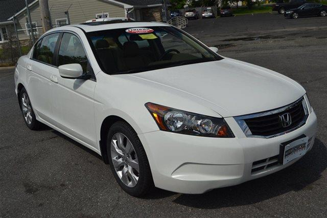 2010 HONDA ACCORD 4DR I4 AUTOMATIC EX-L taffeta white new arrival bluetooth navigation hea