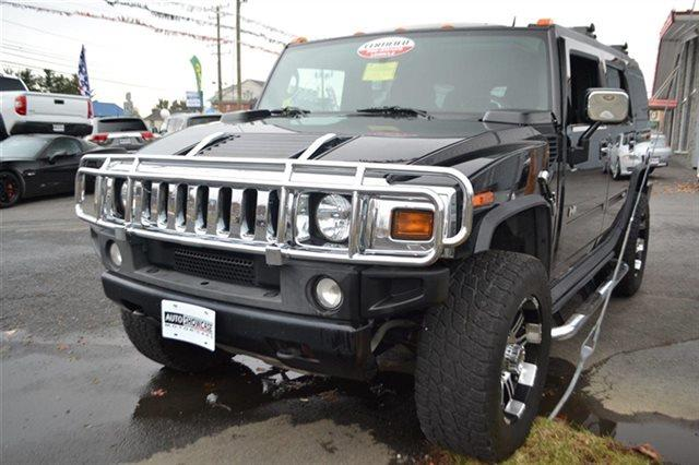 2005 HUMMER H2 4DR WAGON SUV AWD SUV black priced below market this 2005 hummer h2 suv will se