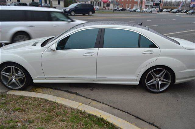 2008 MERCEDES-BENZ S-CLASS S550 4DR SEDAN white this 2008 mercedes-benz s-class 55l v8 will sell