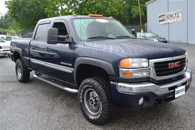 2006 GMC SIERRA 2500HD SLE2 CREW CAB 4WD 4X4 TRUCK deep blue metallic new arrival low miles t