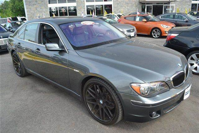 2007 BMW 7 SERIES 750I 4DR SEDAN sterling gray metallic this 2007 bmw 7 seri