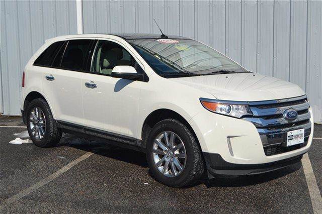 2011 FORD EDGE SEL 4DR SUV white priced below market thisedge will sell fast carfax one owne