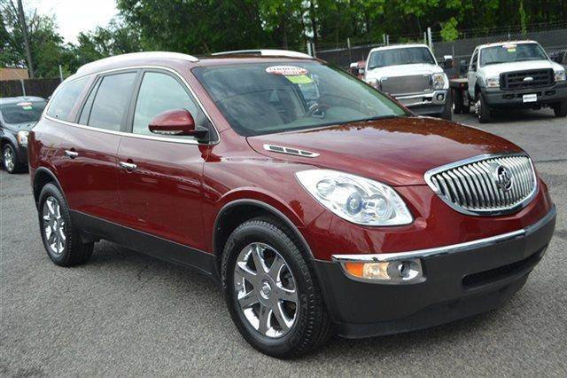 2009 BUICK ENCLAVE CXL AWD 4DR SUV red jewel tintcoat new arrival heated seats keyless start