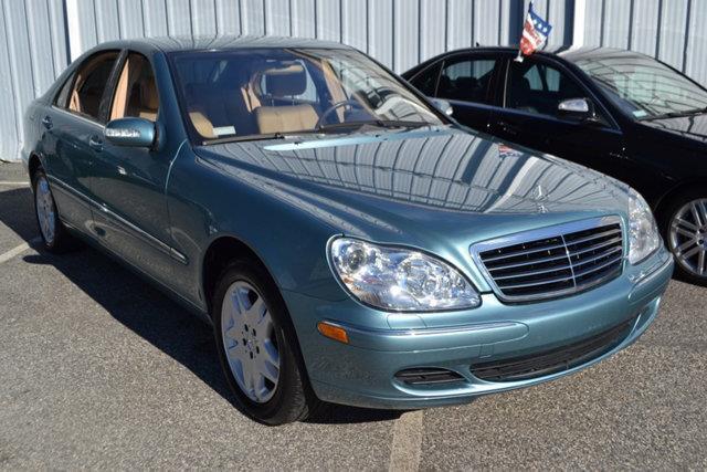 2003 MERCEDES-BENZ S-CLASS S500 4DR SEDAN blue this 2003 mercedes-benz s-class 4dr s500 4dr sedan